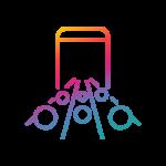 • Equipamentos de ponta como os usados por emissoras de tv • Câmeras • Switchers • Gerenciador de conteúdos • Link remoto para palestrantes virtuais • Up link e outras ferramentas que vão dar segurança a seu evento